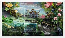 Dinosaurs MNH Miniature Sheet 6 Stamps 2020 Hungary Balkony Dinosaur Site