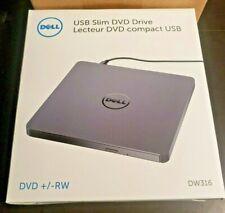Dell DW316 USB Slim DVD±RW Drives + Pwr Adapter BRAND NEW OPTICAL DRIVE  14512/R
