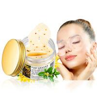 80Pcs/bottle Gold Osmanthus Eye Mask Eyelid Patch Reduce Wrinkle Dark Circles-