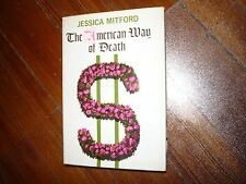 The American Way of Death Jessica Mitford Signed HC/DJ