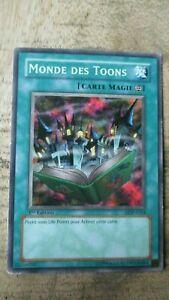 Carte Yu-Gi-OH-MONDE DES TOONS-1ere édit.Française-DDP-FR024