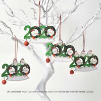 2020*Christmas Tree Hanging Ornaments Family Xmas Party Ornament Snowman Pendant