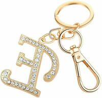 Keychain for Women AlphaAcc Purse Charms for Handbags, Letter:e, Size Large nGOd
