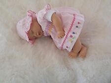 MARIGOLD BABY GIRL GOS Real Mottled Childs 1st Reborn Doll Birthday Xmas Gift