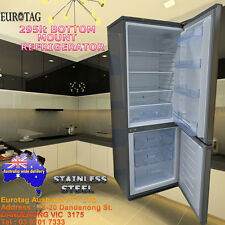 NEW Eurotag EU-295SS 295L Bottom Mount Refrigerator Stainless Steel RRP$795.00