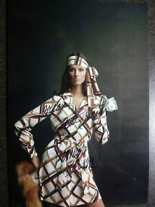 VERONICA HAMEL  Hand Signed Autograph 2 TIMES 4X6 Photo - SEXY  MODEL & ACTRESS