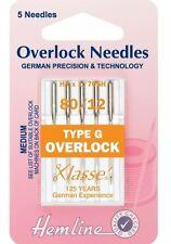 Klasse Overlocker Needles Type G (HA x 1 / 705H)