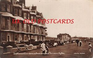 Kent - HYTHE, Saltwood Gardens & Beaconsfield Terrace, Real Photo by H.B's F & L