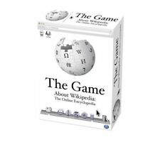 Spinmaster Games -  The Game About Wikipedia: The Online Encyclopedia Board Game