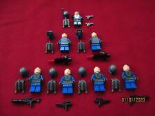 LEGO Star Wars Minifigures LOT. Jango Fett , Mandalorian Troopers, weapons