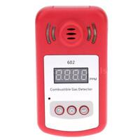 Combustible Gas Detector Gas Leak Meter W/Sound Light Alarm 300-10000ppm S5I3