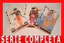 RAIKA 1/3 Serie Completa Comic Art TERASHIMA FUJIWARA samurai