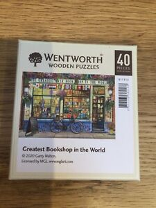 Wentworth Wooden Jigsaw Puzzle 40 Pieces Greatest Bookshop In The World