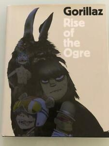 Gorillaz Rise of the Ogre Art Book Hard Cover Cass Brown Virtual Band Japan F/S