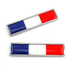 le drapeau de la Flag of France Emblem Stainle Metal Sticker For Honda Gold Wing
