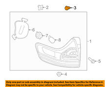 TOYOTA OEM Taillight Tail Light-Rear-Combo Lamp Assembly Guide 8149660010