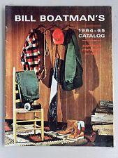 Vintage Bill Boatman's 1964 1965 Catalog Hunting Sporting Goods Dogs