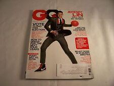 GQ MAGAZINE NOVEMBER,2012 JEREMY LIN, VOTE, HOW TO DRESS NEXT FOUR YEARS