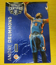 2014-15  PANINI TOTALLY CERTIFIED BLUE #/149 ANDRE DRUMMOND DETROIT PISTONS UCON
