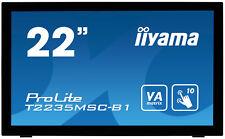 "Iiyama Prolite T2235msc 21.5"" monitor PC Full HD Touch Screen 1920 X 1080"