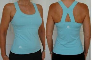 JIVANA* Designer Gym Fitness Yoga Sports Top Ladies womens XS,S,M,L,XL l Blue *