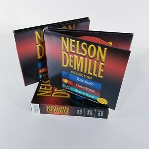 Nelson DeMille Collection CD AudioBooks 8 Disc THREE COMPLETE STORIES