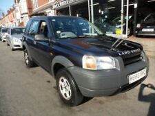 Freelander Four Wheel Drive Manual Cars