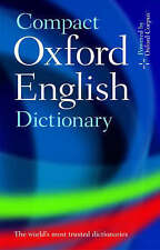 Compact Oxford English Dictionary of Current English by Oxford Dictionaries (Hardback, 2008)