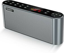 Bluetooth Fm Radio Mp3 Player Portable Wireless Speaker Black