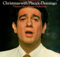 Christmas with Placido Domingo Vienna Sym. Orch. Stereo  LP CBS-FM 37245  1981