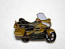 GL1800 Goldwing Bike pin for hat vest lapel tie tack in Gold