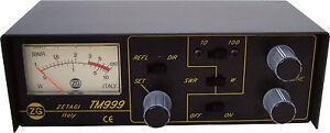 Zetagi TM-999 CB SWR Meter & Matcher  100W Antenna Tuner TM999