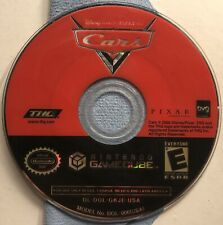 Cars - Nintendo GameCube - DISC ONLY - Tested - Game Only - Disney - Pixar