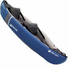 Sevylor Inflatable Adventure Kajak 2 Sitzer Kayak Kanu Boot Touring Freizeit NEU