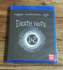 DEATH NOTE LE FILM 1 & 2 Blu-Ray Neuf Sous Blister VF