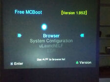 Free McBoot FMCB 1.952 on PS2 Playstation 2 16 MB Memory Card w/ Code Breaker 10