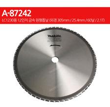 "Makita A-87242 (12"") Circular Saw Blade Cutting METAL Blade 60T for LC 1230"