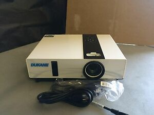 DUKANE IMAGEPRO 8763A LCD PROJECTOR, ONLY USED FOR 133 TOTAL HOURS!