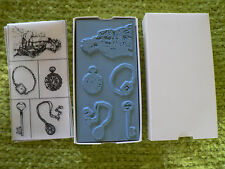New in Box Dream Impressions 5 Rubber Stamps Victorian Jewelry Collection