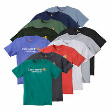Carhartt Core Logo Short Sleeve T-Shirt | 10 Farben | workwear | 101214