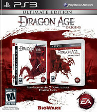 Dragon Age Origins: Ultimate Edition PS3 New Playstation 3