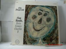 ELLA FITZGERALD-(LP)-CLAP HANDS, HERE COMES CHARLIE! - RARE STEREO VERSION-1962