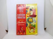 """1954 Advertising Cookbook 641 Tested Recipes - From The Sealtest Kitchen """"Dairy"""""""