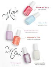 Essie Nail Polish Lacquers Summer Collection 2017 S'il Vous Collection Set Of 6