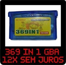 369 in 1 GBA Games for Nintendo GBA SP NDS Retro GameBoy Multicart Cartridge