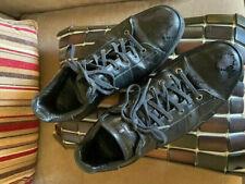 Gucci Guccissima GG Gomna Nero Authentic Sneakers Men's Size 10
