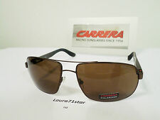 Carrera 8003 Matte Bronze Polarized Occhiali da Sole sunglasses New Original