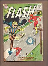"""FLASH #121 ('61) @ 2.5 (vs. TRICKSTER) """"HI-GRADE"""" BRIGHT/SHINY COVERS (DETACHED)"""