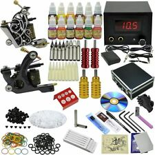 OPHIR Complete Tattoo Kit 2 Machine Gun 12 Inks with other Tattoo  Accessories