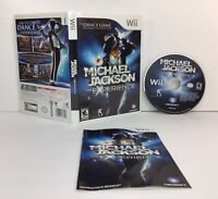 Michael Jackson: The Experience (Nintendo Wii, 2010) Complete - Free Shipping